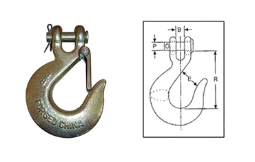 CLEVIS SLIP HOOKS WITH LATCH H331/A331